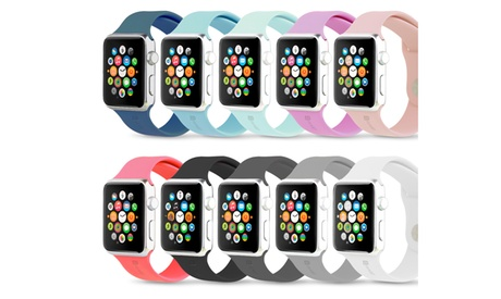 Gear Beast Silicone Replacement Sport Band for Apple Watch