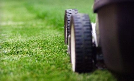 4 Lawn-Care Treatments over Two Months, Including Edging, Cutting, and Blowing Up to 8,000 Square Feet  - HJ Earthbound Cleaning in
