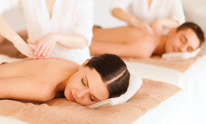 Alchimia Benessere - Alchimia Benessere: Percorso benessere per 2 con massaggio di un'ora a testa da 24 € invece di 102