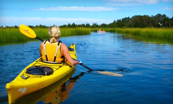 JK Kayak - New York City: One-Hour Kayak Tour Around Long Island for One or Two from JK Kayak (Up to 55% Off)
