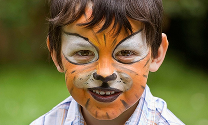All About Face - Arroyo Grande: $83 for $150 Worth of Face Painting at All About Face