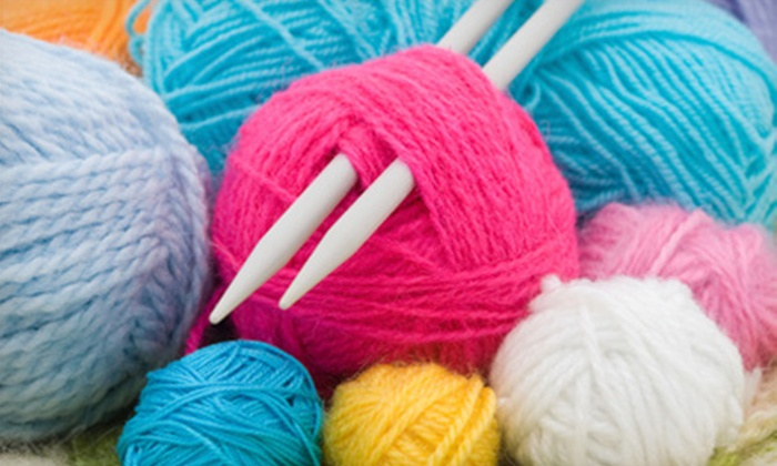 Baltimore Threadquarters - Canton: Four or Eight Knitting, Crocheting, and Sewing Classes for a Child or Adult at Baltimore Threadquarters (Up to 56% Off)