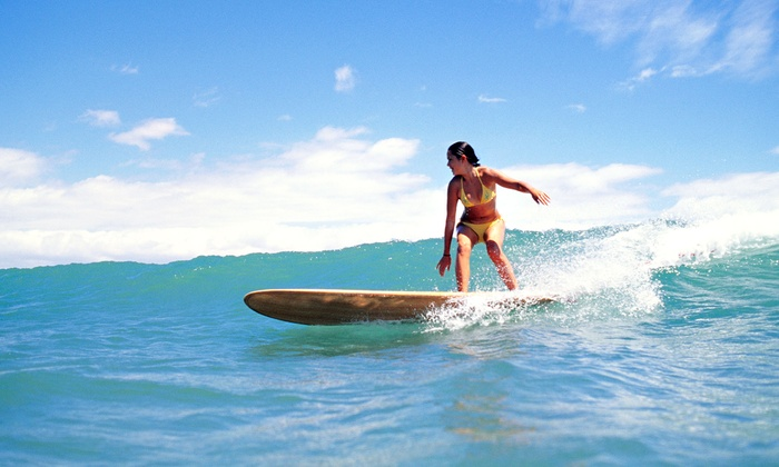 Go Nuts Hawaii - Waikiki: One-Hour Group Surf or Stand-Up Paddleboard Lesson for Two or Four at Go Nuts Hawaii (Half Off)