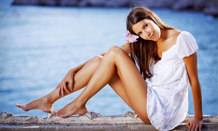 Princess Tans - Onset: One or Three Airbrush Tans or Six Tanning Bed Sessions at Princess Tans (Up to 54% Off)