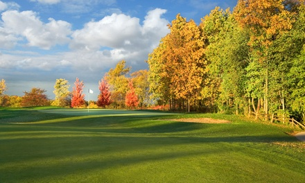 18 Holes of Golf with Cart for Two or Four at Prairie View Golf Club (Up to 50% Off). Four Options Available.