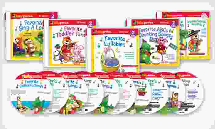 Baby Genius 10-Disc CD Set: $25 for a Baby Genius 10-Disc CD Set ($64.90 List Price)