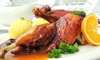 Weihnachtliches 3-Gänge-Menü mit Gänse- od. Entenkeule für zwei oder vier Personen im Restaurant Si (bis zu 54% sparen*)