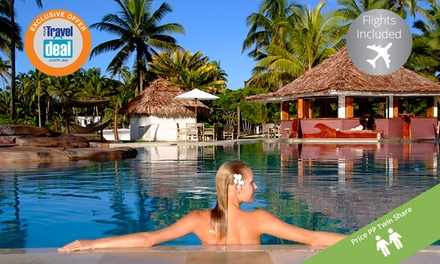 Fiji: ,099 PP for Seven Nights with Flights, Unlimited Golf + Buffet Breakfast at The Pearl South Pacific Resort