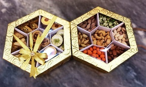 Al Dar Roastery: 1, 2 & 3 Boxed of Nuts or Arabic Sweets starting from AED 39 at Al Dar Roastery, Al Barsha