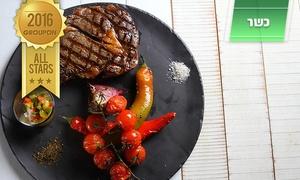 מסעדת ריבס: ריבס, מסעדת הבשרים היוקרתית והכשרה באשדוד, חוגגת 3 שנות הצלחה! רק 100 ₪ לגרופון זוגי בשווי 200 ₪, אופציה לרביעייה