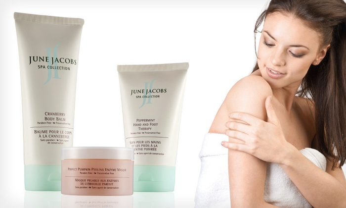 June Jacobs At-Home Spa Kit: $49 for a June Jacobs At-Home Spa Kit ($168 List Price). Free Shipping.