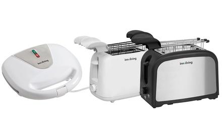 Tostiera e tostapane Innoliving disponibili in 3 modelli