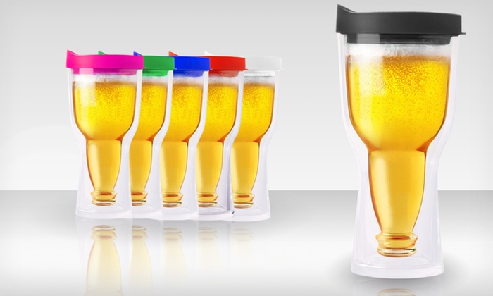 Two Pack of Brew2go Beer Tumblers: $24.99 for Two AdnArt Brew2Go Beer Tumblers ($70 List Price). Multiple Colors Available. Free Shipping and Returns.