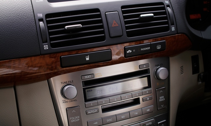 Solar & Security Window Tinting - Town N County Alliance: $125 for Car Stereo with iPod Jack and Installation at Solar & Security Window Tinting ($249.99 Value)