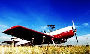 HWR Airworks: 25, 40 oder 60 Minuten ein Flugzeug selbst fliegen unter Anleitung bei HWR Airworks (bis zu 62% sparen*)
