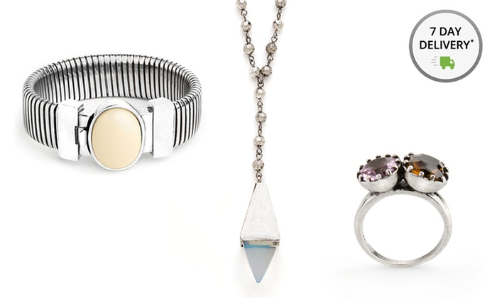 JewelMint Silver-Themed Jewelry   Groupon