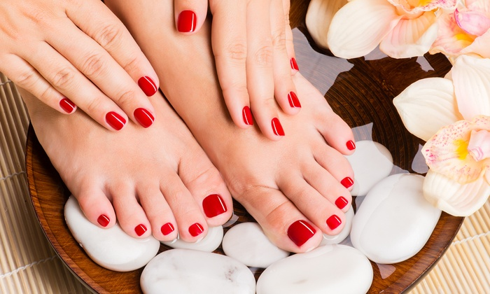 All About Beauty Salon & Spa - Brandon: One Mani-Pedi or Five Manicures at All About Beauty Salon & Spa (Up to 70% Off)