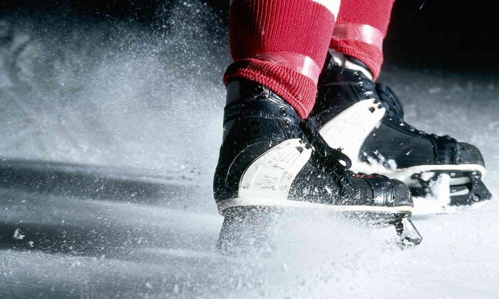Ice Connection of Pittsburgh - Middlesex: Ice Skating and Skate Rental for Two or Four at Ice Connection of Pittsburgh (Up to 52% Off)