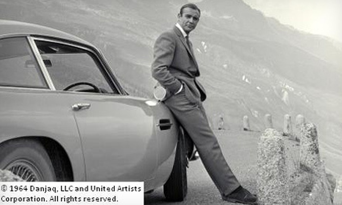 """Designing 007: Fifty Years of Bond Style"" Exhibition - Downtown Toronto: $17 for Two to See ""Designing 007: Fifty Years of Bond Style"" at TIFF Bell Lightbox (Up to $33.90 Value)"