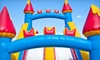 Fore! Family Fun - Oswego: $29 for Mini Golf, Bounce Time, and Pizza at Fore! Family Fun  in Oswego (Up to $62.99 Value)