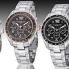 Stührling Men's Swiss Multifunction Robust Bracelet Watch