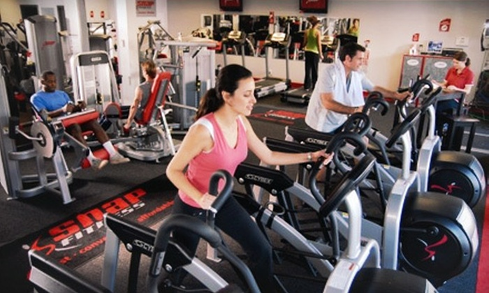 Snap Fitness - Watchung: One- or Three-Month Gym Membership with One Personal-Training Session at Snap Fitness (Up to 75% Off)