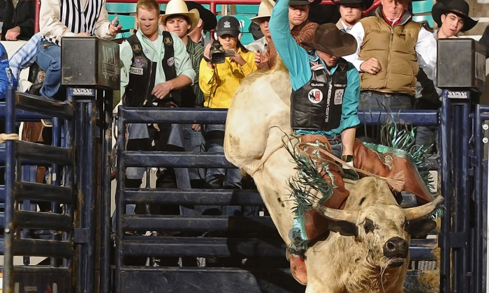 Rodeo All-Star - National Western Events Center: 2014 Rodeo All-Star Semi-Finals or Finals at National Western Events Center on April 18 or 19 (Up to Half Off)