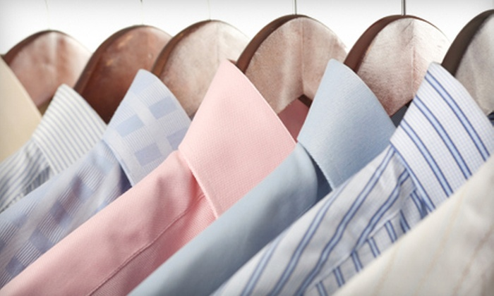 Hanger's Cleaners - Round Rock: Dry-Cleaning Services or Wedding-Gown Cleaning at Hangers Cleaners (Half Off)