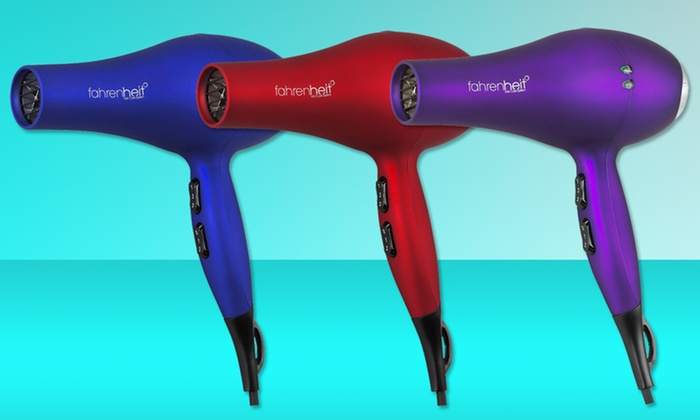 Fahrenheit Blow Dryer: $39.99 for a Fahrenheit Blow Dryer ($195 List Price). Multiple Colors Available. Free Shipping and Returns.