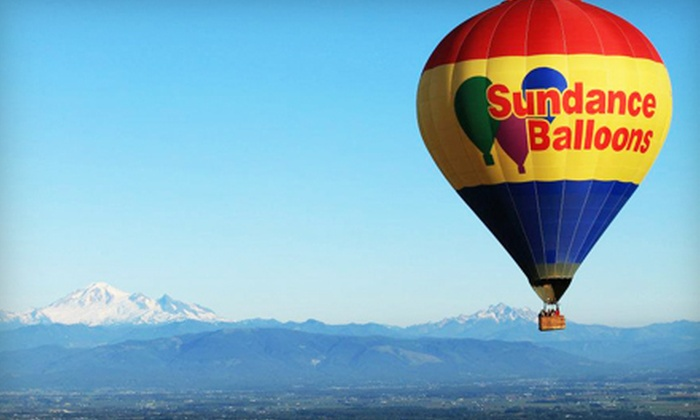 Sundance Balloons - Edmonton: Hot Air Balloon Ride For One on a Weekday or Weekend Morning, or Anytime from Sundance Balloons (Up to 41% Off)