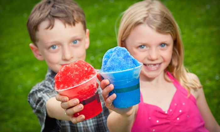 R&M Tropical Sno - Multiple Locations: Catered Hawaiian Shaved Ice for 20 People or $6 for $12 Worth of Hawaiian Shaved Ice from R&M Tropical Sno