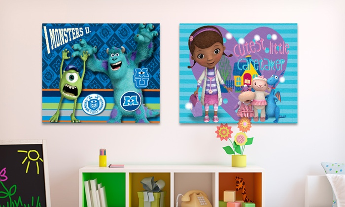 Disney or Nickelodeon Light-Up Wall Art: $8.99 for Disney or Nickelodeon Wall Art ($14.99 List Price). Multiple Characters Available. Free Returns.
