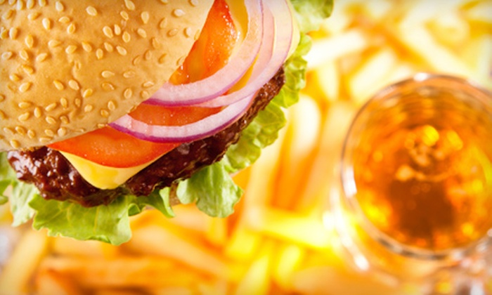 Magoo's Sports Pub - West Allis: $11 for Burgers and Beer or Soda for Two at Magoo's Sports Pub (Up to $22.48 Value)