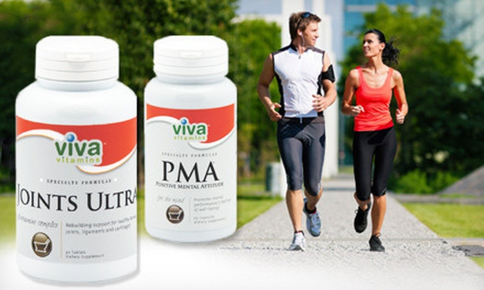 Viva Vitamins & Earth Wise Nutrition Centers - Valencia: Vitamins and Supplements at Viva Vitamins & Earth Wise Nutrition Centers (Up to 55% Off). Two Options Available.