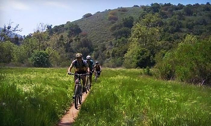 L.A. Mountain Bike Tours - Encino: $85 for Guided Mountain-Biking Tour for Two with Equipment Rental at LA Mountain Bike Tours in Topanga ($270 Value)