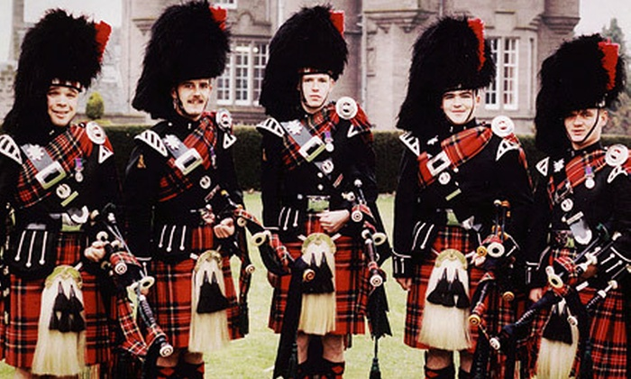 """The Black Watch & The Scots Guards"" - Downtown: Pipes and Drums of the Black Watch with Band of the Scots Guards at Music Hall Center on Saturday, February 9, at 8 p.m."