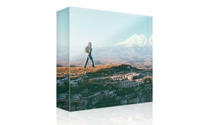 Photo Gifts: Acrylic Photo Block with Choice of Size from Photo Gifts (Up to 83% Off)