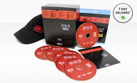 ESPN 30 for 30 Blu-ray Collector's Set with ESPN Hat. Free Returns.