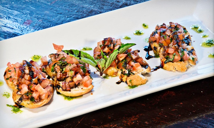 Cafe Luna - Dupont Circle: Italian-Inspired Entrees and Bottomless Drinks for Two or Four at Cafe Luna (Up to 57% Off)