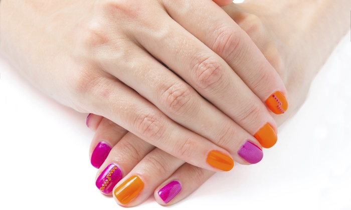 She's Nailin It - Roseville: Shellac Manicures for One or Two People at She's Nailin It (Up to 49% Off)