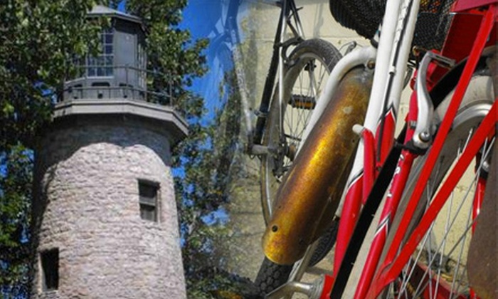 Explore Pelee - Pelee Island: Bike Tour of Pelee Island Lighthouse or Winery for Two or Four from Explore Pelee (Up to 52% Off)