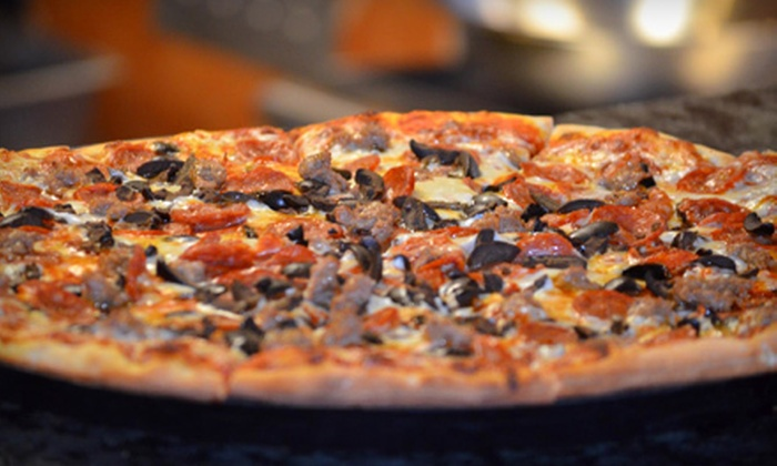 Pete's Restaurant and Brewhouse - Pete's Restaurant and Brewhouse (Natomas): Catered Pizza-Party Meal, Pizza Meal for Four, or $10 for $20 Worth of Italian Food at Pete's Restaurant and Brewhouse