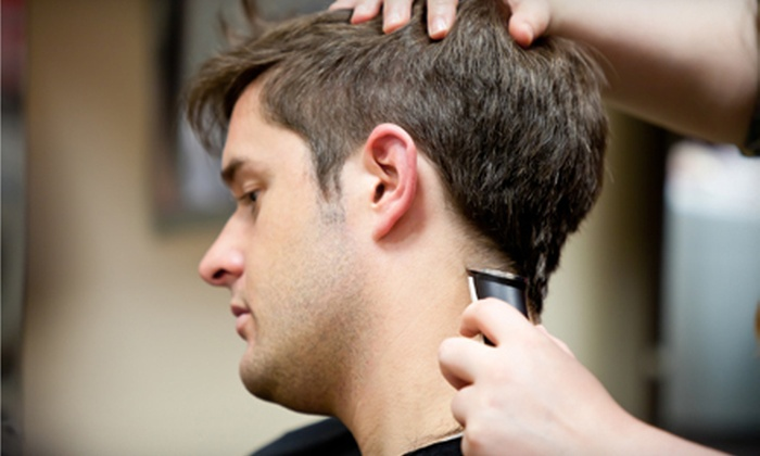 Twins VIP Barber Shop - Far Eastside: Men's Haircuts, Straight-Razor Shaves, or Haircut, Shave, and Treatments at Twins VIP Barber Shop (Half Off)