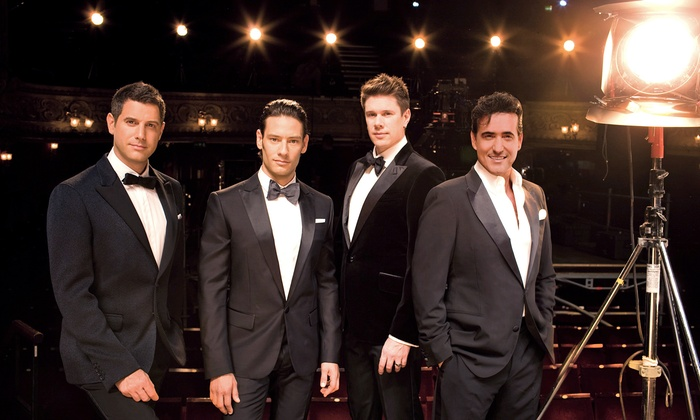 """Il Divo - Chastain Park Amphitheatre: """"Il Divo: A Musical Affair"""" at Chastain Park Amphitheatre on Saturday, May 10, at 8 p.m. (Up to 53% Off)"""