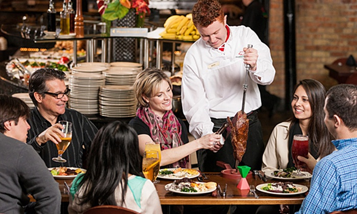 Rodizio Grill - South Shore, Braintree: Unlimited Brazilian Steakhouse Dinners with Drinks at Rodizio Grill (Up to 43% Off) Four Options Available.