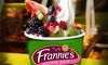 Frannie's Goodie Shop - Ridge Hill - Multiple Locations: Three Groupons, Each Good for $10 Worth of Fro-Yo, or Fro-Yo Party for Up to 10 at Frannie's Goodie Shop (50% Off)