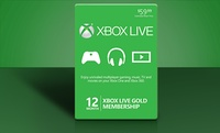 GROUPON: 12-Month Xbox Live Gold Card 12-Month Xbox Live Gold Card