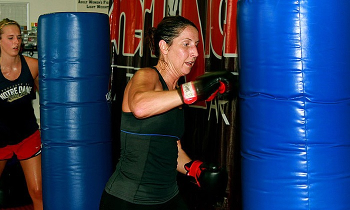 AmeriKick Martial Arts - Sylvan Grove: One or Three Months of Unlimited Cardio Kickboxing Classes at AmeriKick Martial Arts (Up to 68% Off)