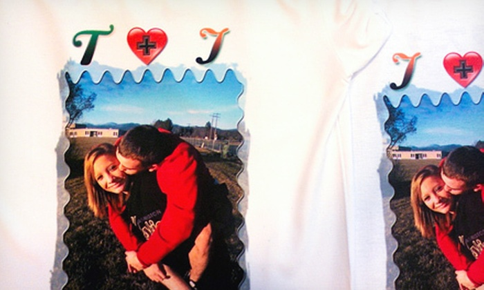 Anderson Ink - Spokane Valley: One or Two Custom-Printed-Photo T-shirts at Anderson Ink (Up to 62% Off)