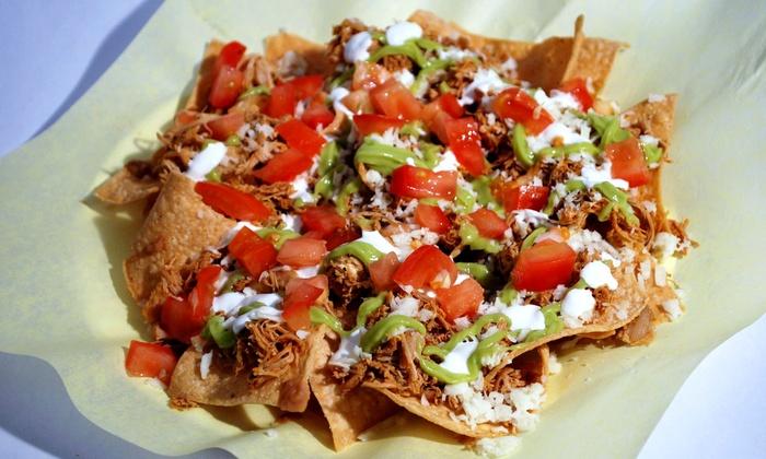 Burrito Express - Burrito Express -Pasadena: Mexican Food at Burrito Express (40% Off). Two Options Available.